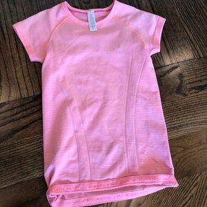 Ivivva size 10 peach shirt
